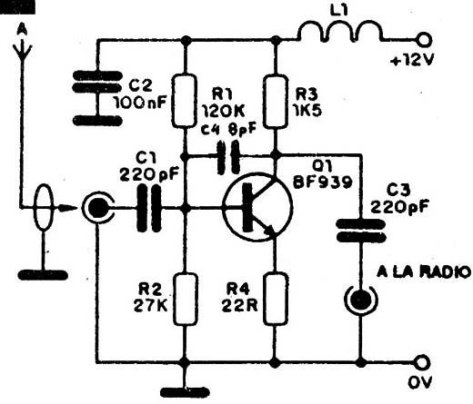Reforzador De Seales Am Y Fm Para Automvil Art159s