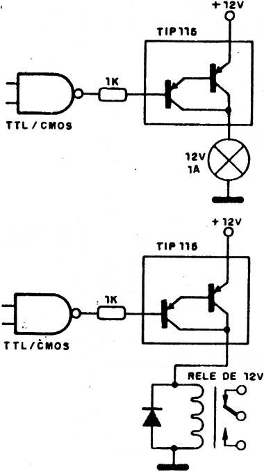 circuitos con darlington de potencia  art172s