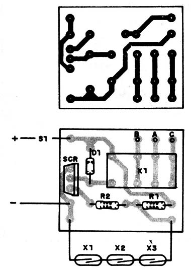Circuito Com Scr Tic 106 : Alarma com reed switches min s
